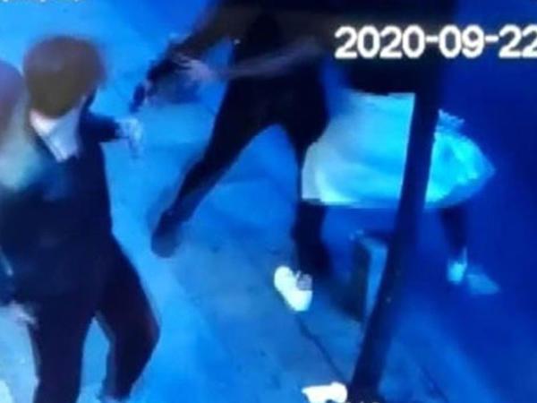 Aktyorun dostu tərəfindən silahla vurulma görüntüləri - VİDEO - FOTO