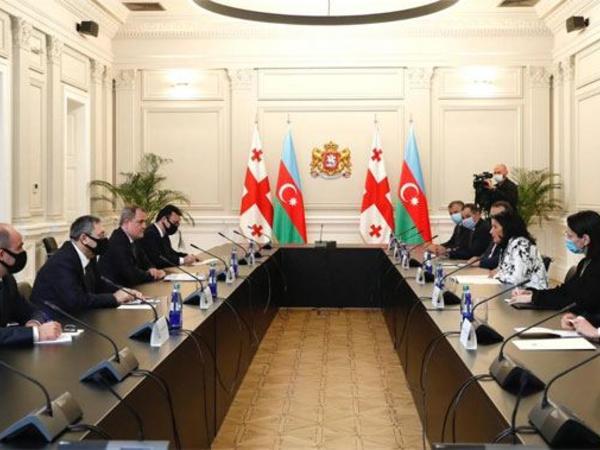 Ceyhun Bayramov Gürcüstanın Prezidenti Salome Zurabişvili ilə görüşüb