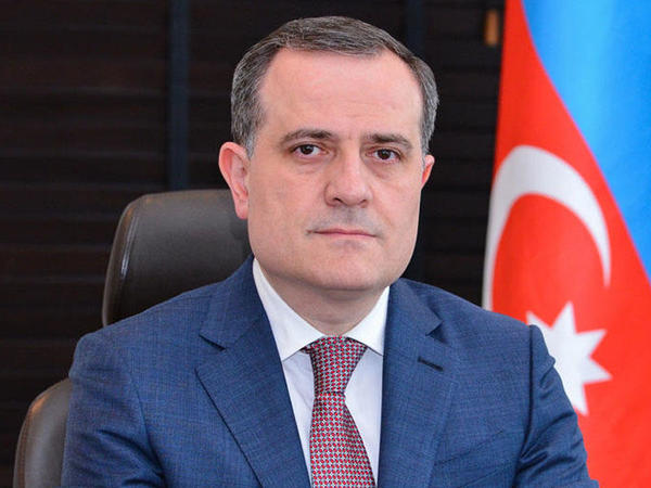 Ceyhun Bayramov Mustafa Şəntopla görüşüb