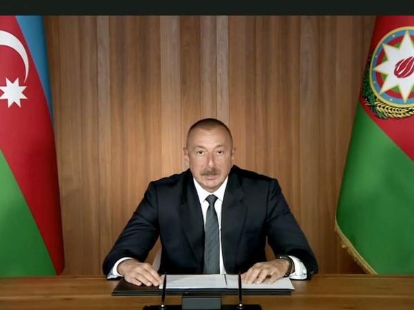 Azərbaycan Prezidenti: Biz bütün ölkələri Ermənistana silah təchizatından çəkinməyə çağırırıq