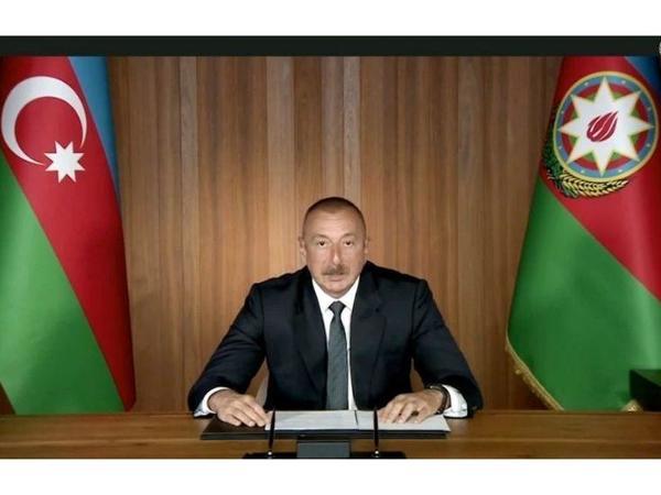 Prezident İlham Əliyev: İşğalçı dövlət olan Ermənistana qarşı sanksiyalar tətbiq olunmalıdır