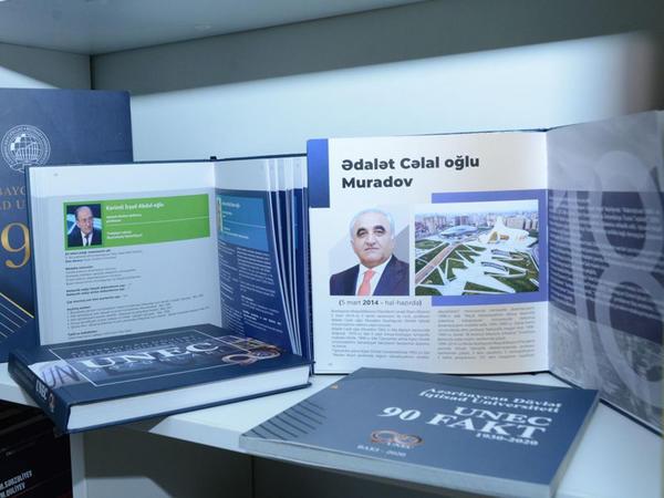 UNEC-in 90 illik yubileyinə töhfə: nəfis tərtibatda kitablar - FOTO