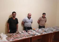 İrandan Azərbaycana narkotik keçirən dəstə saxlanıldı - FOTO