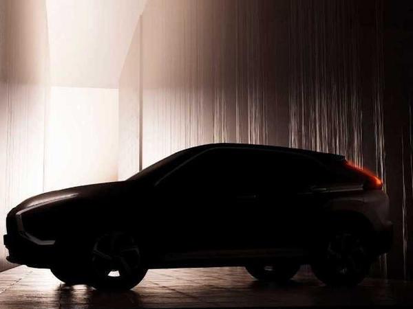 Mitsubishi yenilənmiş Eclipse Cross modelinin tizerini dərc edib - FOTO