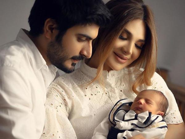 Murad və Ülviyyənin yeni doğulan oğlu ilə FOTOSESSİYASI