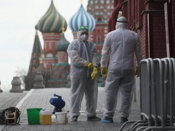 Rusiyada son sutkada 21 734 nəfər koronavirusa yoluxub