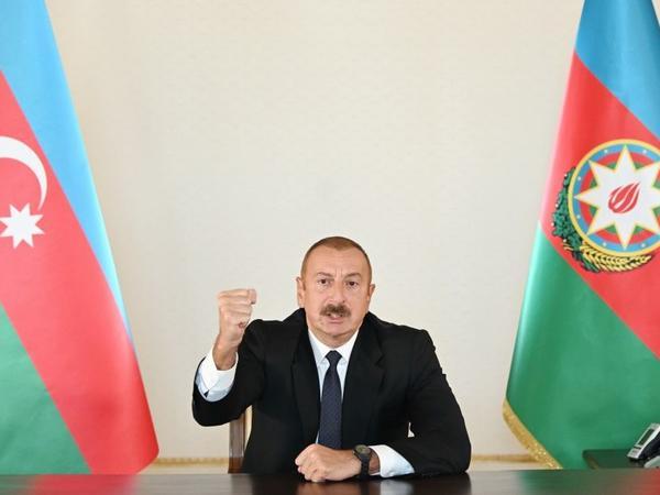 Prezident İlham Əliyev xalqa müraciət edib - VİDEO - FOTO