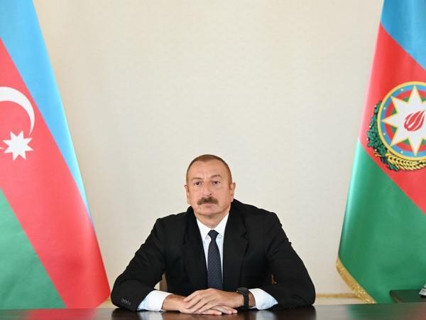 """Prezident İlham Əliyev: """"Tarixi ədalət bizim tərəfimizdədir, beynəlxalq hüquq bizim tərəfimizdədir"""""""