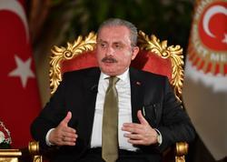 """Mustafa Şentop: """"Türkiyə var qüvvəsi ilə Azərbaycanın yanındadır"""""""