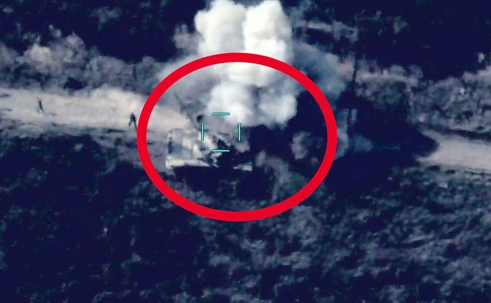 MN daha bir video yaydı: 2 düşmən tankı məhv edilib - VİDEO
