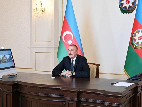 """Prezident İlham Əliyev """"60 dəqiqə"""" proqramında sualları cavablandırıb - FOTO"""