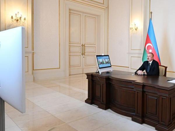 Prezident İlham Əliyev: Biz təcavüzkarı elə cəzalandırmağa qabilik ki, o, bir daha bizim tərəfə baxmağa cəsarət etməsin