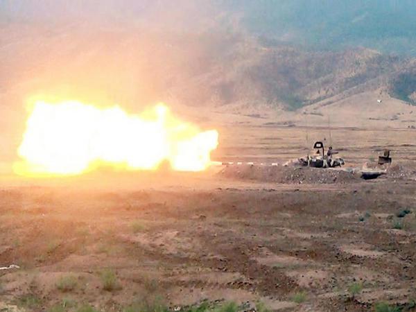 Azərbaycan MN: Ermənistan ordusunun alayı darmadağın edilib