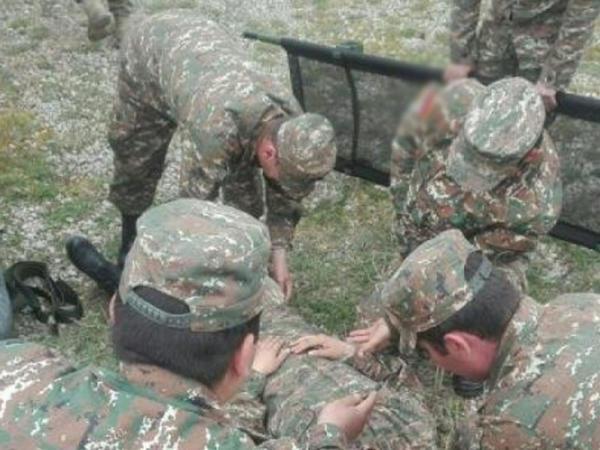 Ermənistan ordusunun daha bir zabiti məhv edilib - RƏSMİ
