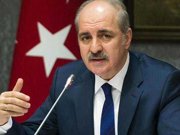 """&quot;Azərbaycana edilən hücum bizə olan hücumdur&quot; - <span class=""""color_red"""">Numan Kurtulmuş</span>"""