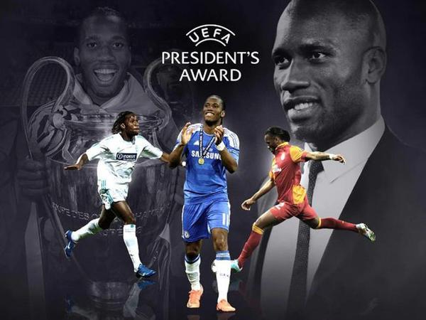 Didye Droqba UEFA prezidenti mükafatına layiq görüldü
