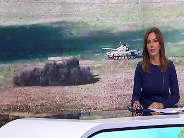 """""""Al Jazeera"""" cəbhə xəttindən daha bir reportaj yayımladı - VİDEO"""