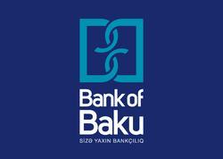 Bank of Baku Silahlı Qüvvələrə Yardım Fonduna 100.000 AZN köçürdü!