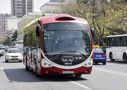 """&quot;Hələ də bəzi sərnişinlər avtobusda maskadan istifadə etmirlər&quot; - <span class=""""color_red"""">BNA</span>"""