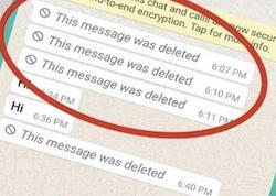 """Həmsöhbətin """"WhatsApp""""dan sildiyi mesajların oxunma üsulu açıqlanıb"""
