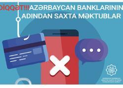 Diqqət! Azərbaycan banklarının adından saxta məktublar göndərilir - FOTO