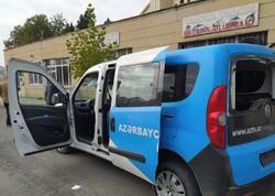 """Ermənilər AzTV-nin maşınını vurdu, <span class=""""color_red"""">sürücü yaralandı - VİDEO - FOTO</span>"""