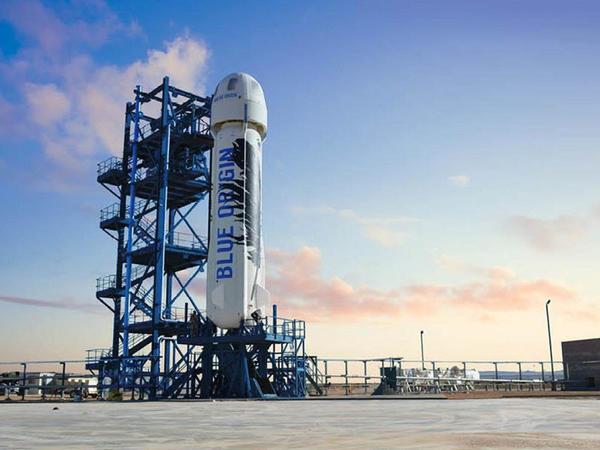 Blue Origin turistlər üçün kosmik raketi test edib
