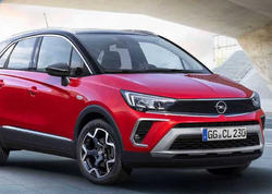 Opel yenlənmiş Crossland modelini təqdim edib - FOTO