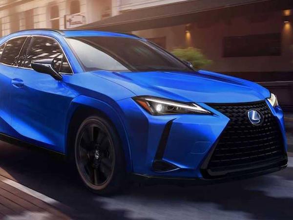 """Lexus UX modeli """"qara"""" versiyaya sahib olub - FOTO"""