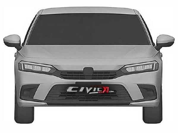 Yeni Honda Civic modelinin patent təsvirləri peyda olub - FOTO