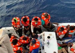 Atlantik Okeanında batan gəminin bütün üzvləri xilas edildi