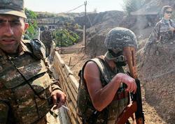 Ermənistan ordusu döyüş bölgəsində manekenlərdən istifadə edir
