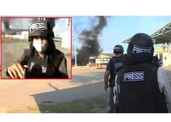 """Tərtərə mərmi düşmə anı CNN-in kamerasında - <span class=""""color_red"""">Halil, bomba düşdü, getdik - VİDEO</span>"""
