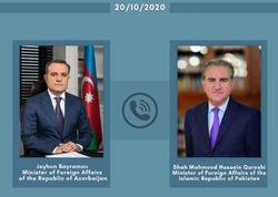 Azərbaycan və Pakistan XİN rəhbərləri arasında telefon danışığı olub