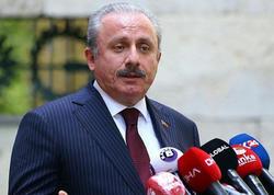"""&quot;Beynəlxalq ictimaiyyət quldur Ermənistanı durdurmalıdır&quot; - <span class=""""color_red"""">Mustafa Şentop</span>"""