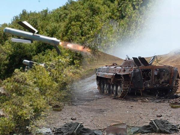 """Erməni tanklarını darmadağın edən """"Spike"""" raketləri - FOTO"""
