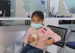 Yardım pulunu əsgərə göndərən altı yaşlı Aynur - FOTO