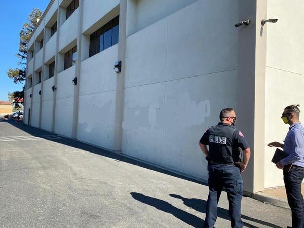 Ermənilər Kaliforniyada azərbaycanlılara qarşı vandalizm aktı törədib - FOTO