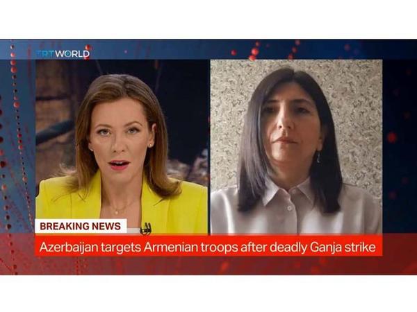 """&quot;Terrorçu Ermənistan hakimiyyəti cəzalandırılmalıdır&quot; - <span class=""""color_red"""">Sevil Mikayılova - VİDEO</span>"""