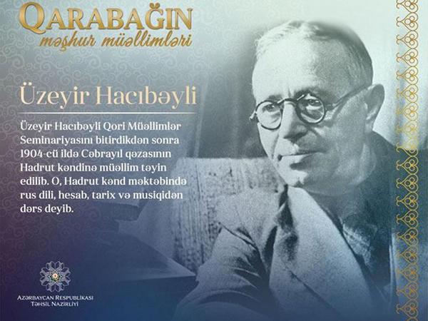 """""""Qarabağın məşhur müəllimləri"""" layihəsinə başlanılır"""