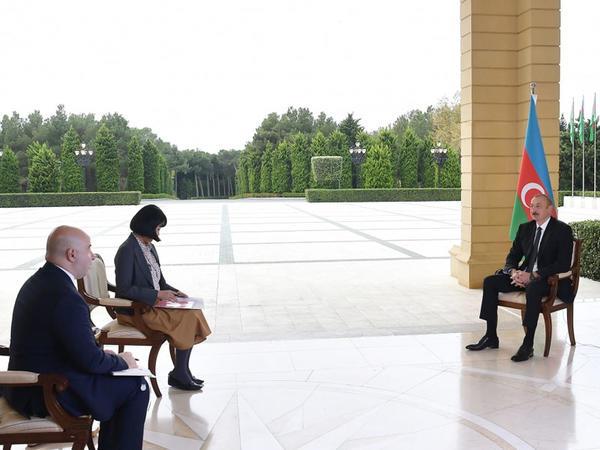 Prezident İlham Əliyev: Əgər Ermənistan konstruktiv addımlar atsa və əraziləri boşaltsa, biz bütün kommunikasiyaları açacağıq