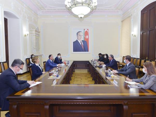 Kamran Əliyev Türkiyənin Baş Ombudsmanı ilə görüşüb - FOTO