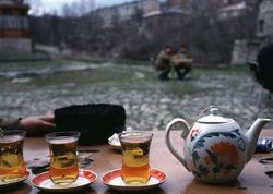 1992-ci il, Şuşada sonuncu çay... - FOTO