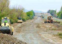 Suqovuşan və Talış kəndlərinə gedən tarixi yolların bərpasına başlanılıb - FOTO