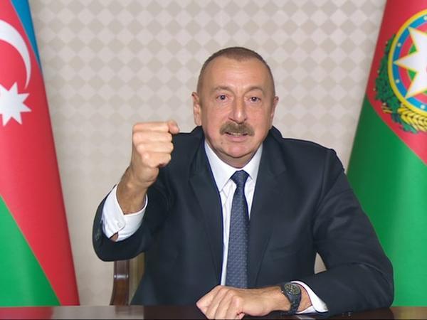 Prezident İlham Əliyev: Azərbaycan və İran İslam Respublikası dövlət sərhədi tam nəzarətə götürülüb