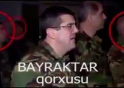 """Erməni əsgərlərin """"Bayraktar"""" qorxusu - VİDEO"""