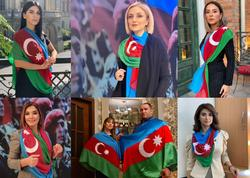 Gülnarə Xəlilova Azərbaycan Ordusunun azad etmə missiyasının şərəfinə kolleksiya təqdim edib - FOTO