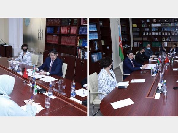 Türkiyənin tanınmış media qurumlarının təmsilçiləri Dövlət Komitəsində olub