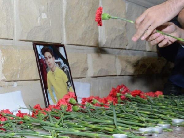Gəncədəki erməni terroru nəticəsində həlak olan Rusiya vətəndaşının xatirəsi yad edilib - FOTO