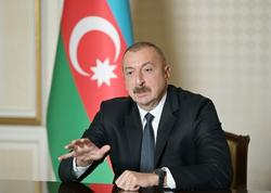 """Prezident İlham Əliyev: """"Əgər müharibəyə mən başlamışamsa, niyə 17 il gözləyirdim"""""""